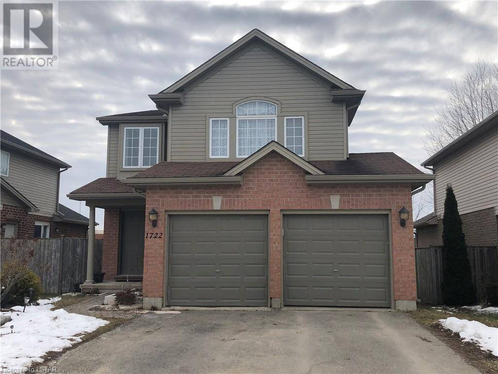 House for sale at 1722 Bayswater Cres London Ontario - MLS: 244107