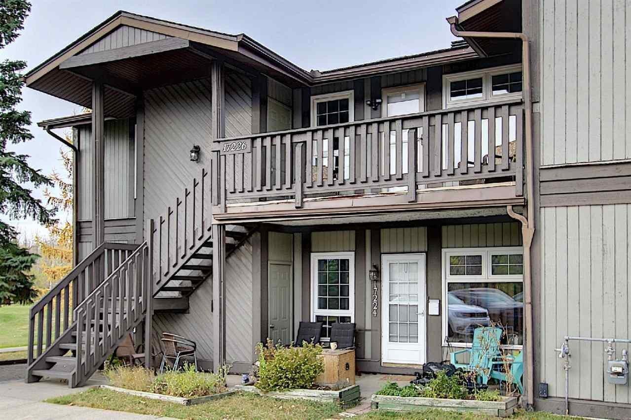 Townhouse for sale at 17226 57 Av NW Edmonton Alberta - MLS: E4217584