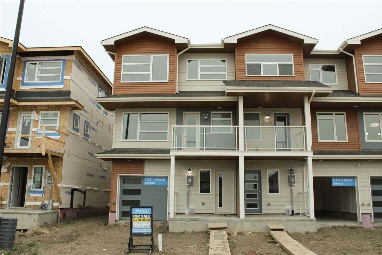 House for sale at 17227 9 Av SW Edmonton Alberta - MLS: E4182414