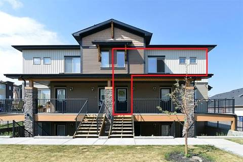Townhouse for sale at 2461 Baysprings Li Southwest Unit 1723 Airdrie Alberta - MLS: C4262406