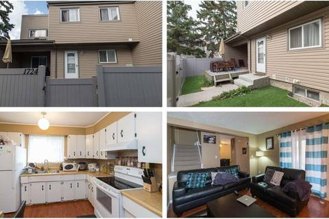 Townhouse for sale at 1724 Lakewood Rd Nw Edmonton Alberta - MLS: E4151022