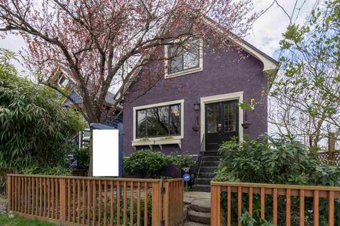 House for sale at 1724 Mcspadden Ave Vancouver British Columbia - MLS: R2448758