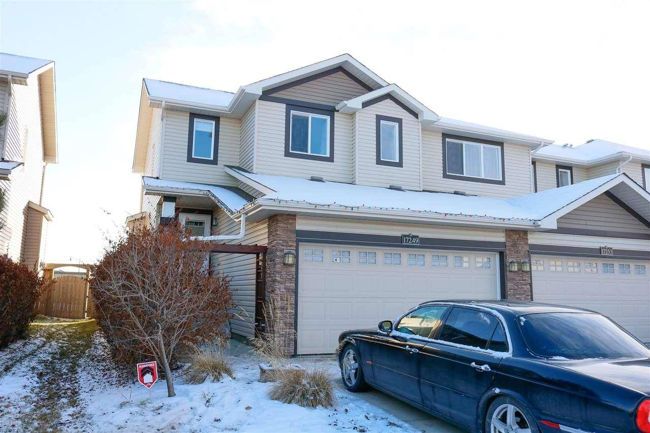 Townhouse for sale at 17249 8a Ave Sw Edmonton Alberta - MLS: E4181662