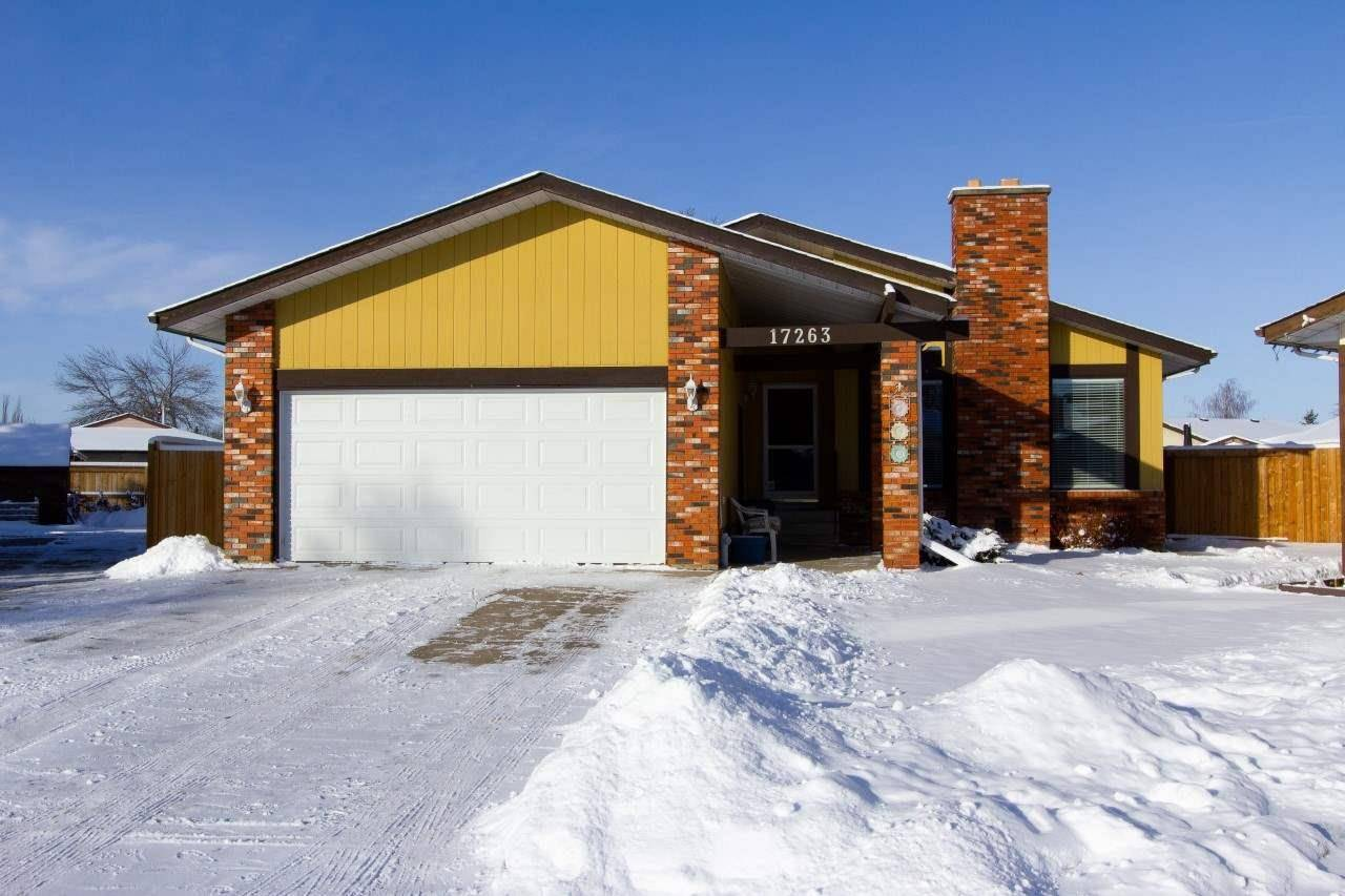 House for sale at 17263 104 St Nw Edmonton Alberta - MLS: E4180072