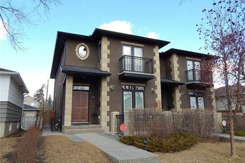 Townhouse for sale at 1728 22 Ave Northwest Calgary Alberta - MLS: C4237126