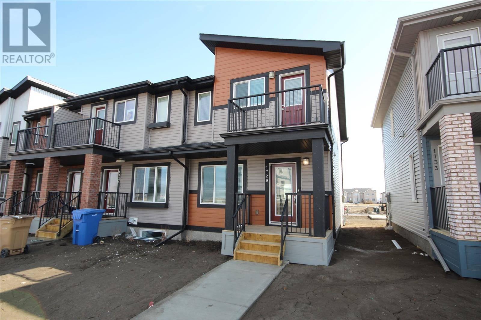 Townhouse for sale at 1729 Red Spring St Regina Saskatchewan - MLS: SK763608