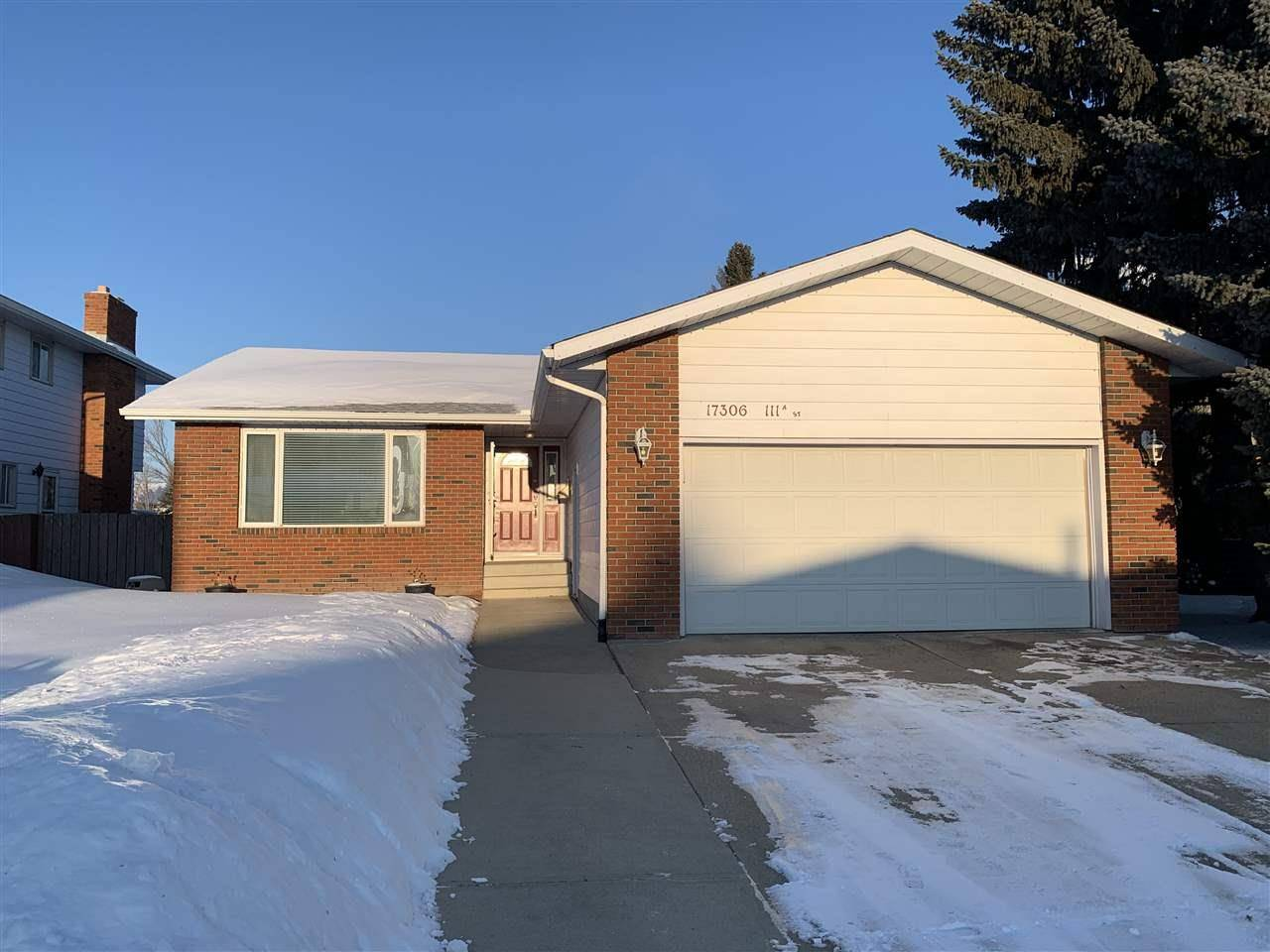 House for sale at 17306 111a St Nw Edmonton Alberta - MLS: E4193314