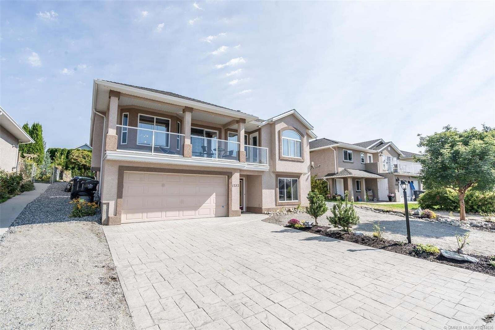 House for sale at 1732 Marona Ct Kelowna British Columbia - MLS: 10214636