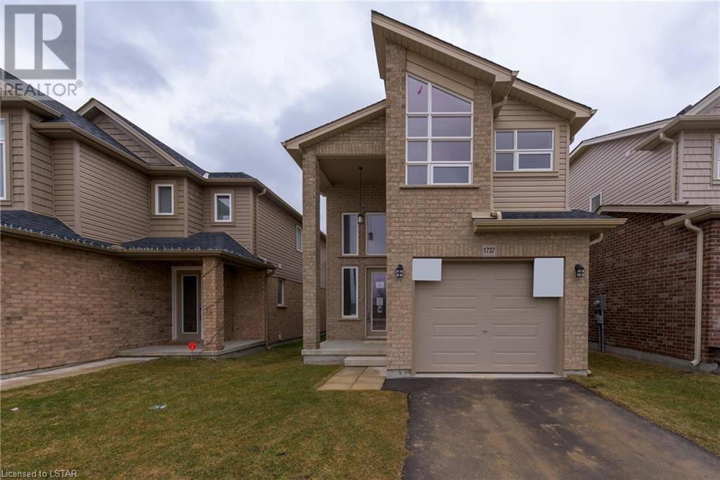 House for sale at 1737 O'hanlan Crossing London Ontario - MLS: 251429