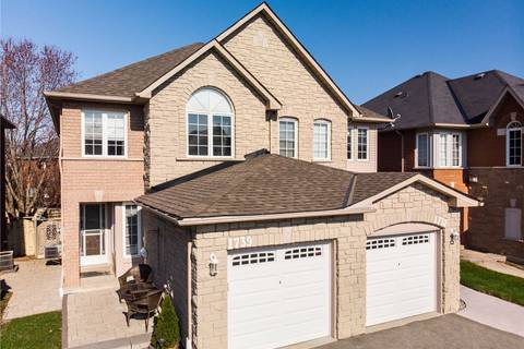 Townhouse for sale at 1739 Silver Maple Dr Pickering Ontario - MLS: E4438696