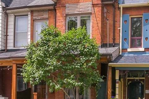 Townhouse for sale at 174 Maria St Toronto Ontario - MLS: W4491193