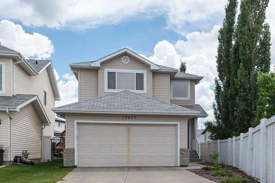 House for sale at 17407 87 St NW Edmonton Alberta - MLS: E4203666