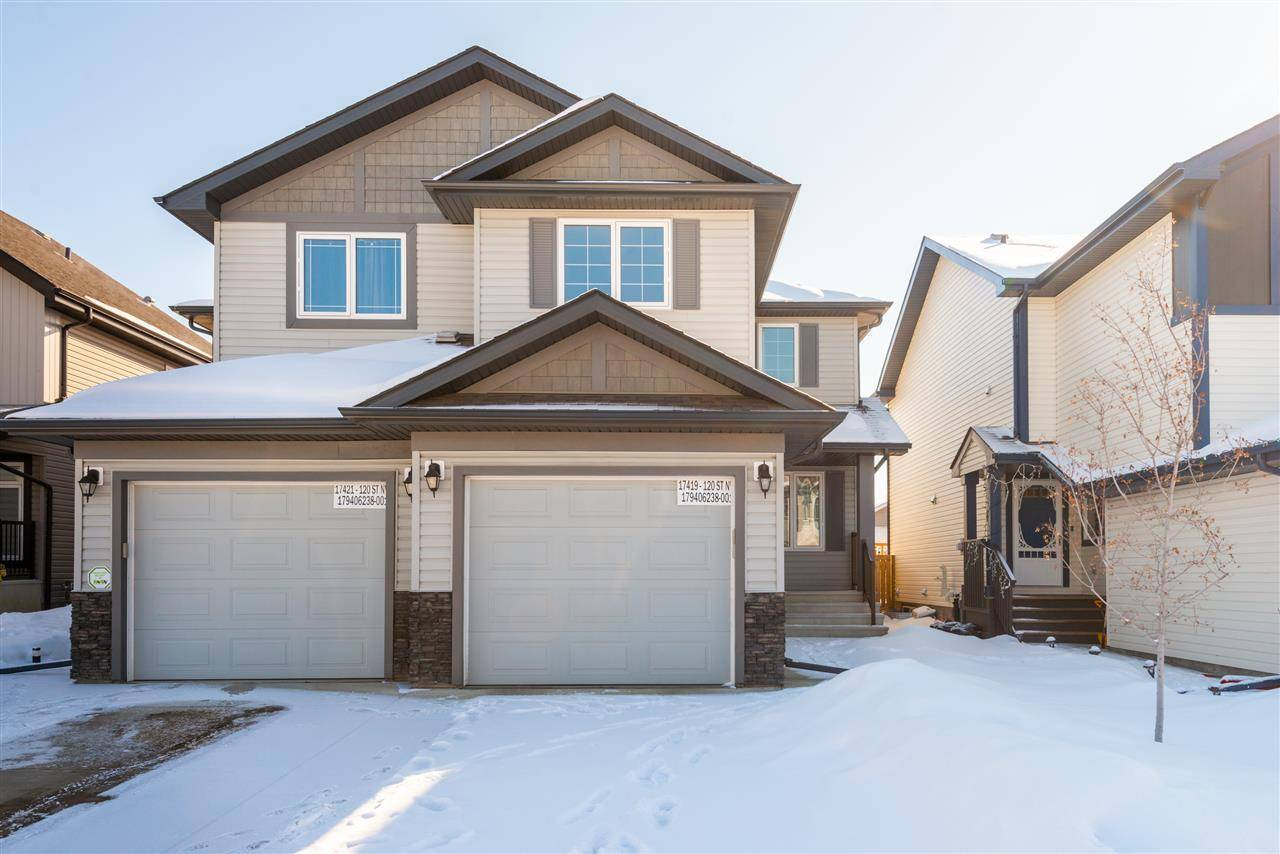 Townhouse for sale at 17419 120th St Nw Edmonton Alberta - MLS: E4192577
