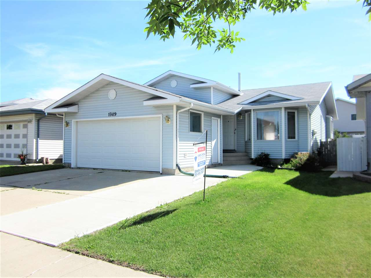For Sale: 17419 91 Street, Edmonton, AB | 4 Bed, 2 Bath House for $345,000. See 30 photos!