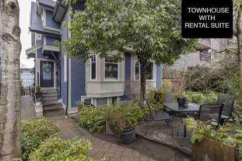 Townhouse for sale at 1743 Frances St Vancouver British Columbia - MLS: R2347531