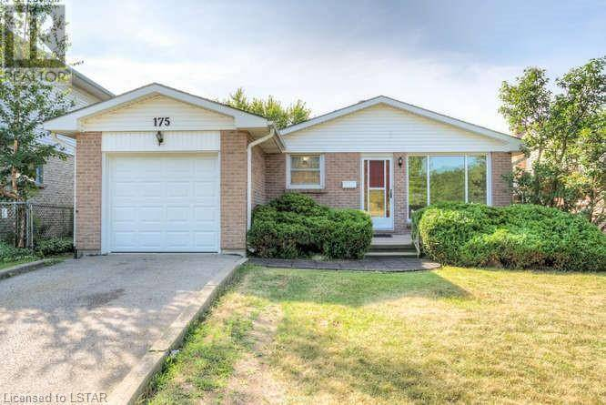 House for sale at 175 Bexhill Dr London Ontario - MLS: 214502