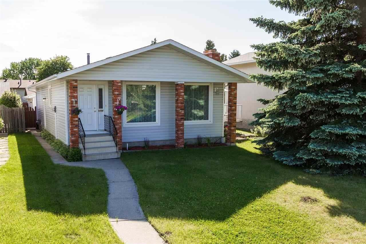 House for sale at 1751 62 St NW Edmonton Alberta - MLS: E4202239