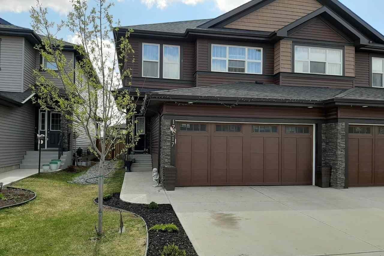 Townhouse for sale at 17517 13 Av SW Edmonton Alberta - MLS: E4196782