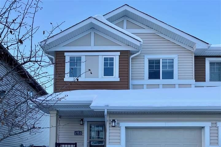 Townhouse for sale at 1753 Hammond Cr NW Edmonton Alberta - MLS: E4219477