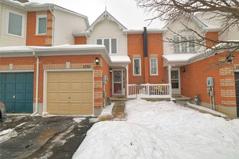 Townhouse for sale at 1753 Woodgate Tr Oshawa Ontario - MLS: E4674309