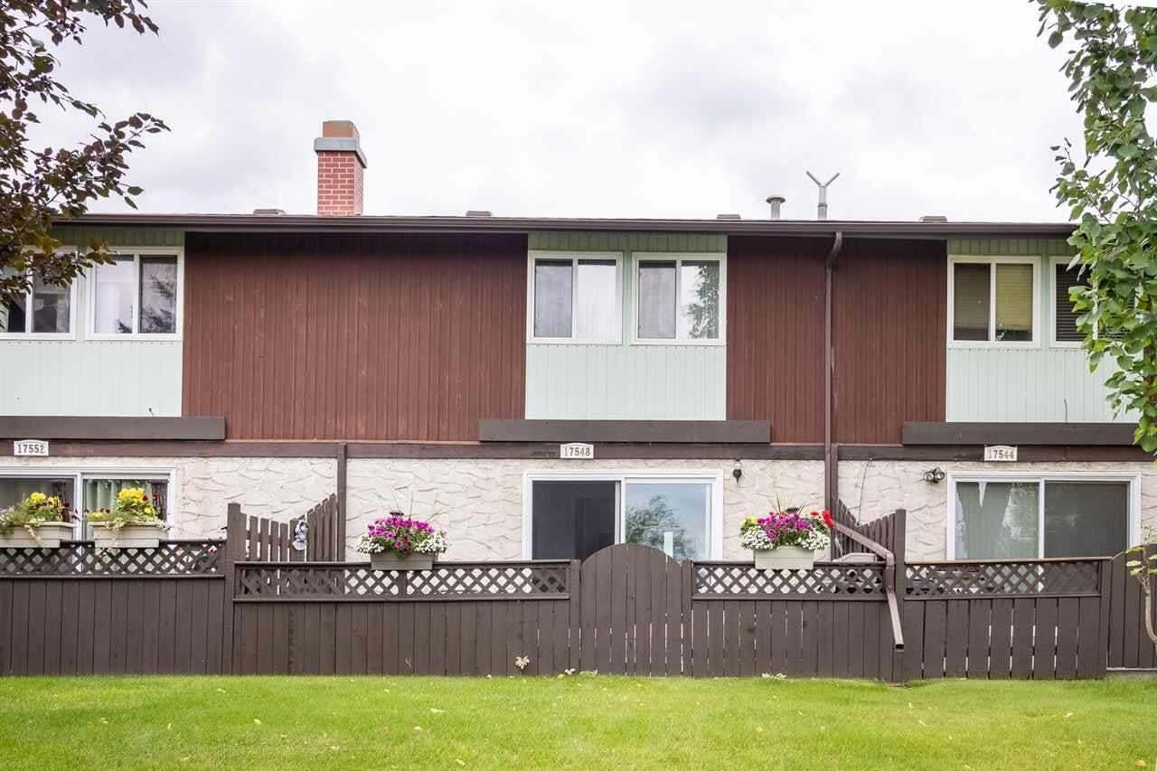 Townhouse for sale at 17548 76 Av NW Edmonton Alberta - MLS: E4194640