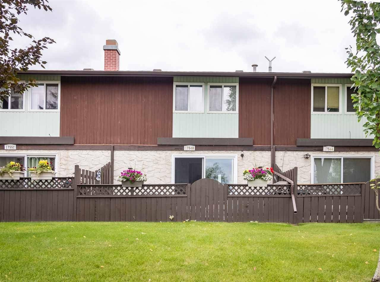 Townhouse for sale at 17548 76 Ave Nw Edmonton Alberta - MLS: E4169428