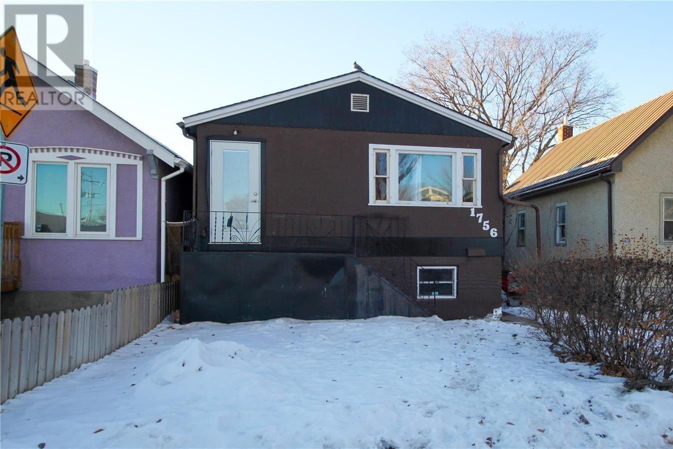 House for sale at 1756 Montreal St Regina Saskatchewan - MLS: SK835947