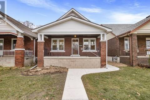 House for sale at 1758 Gladstone  Windsor Ontario - MLS: 19018290