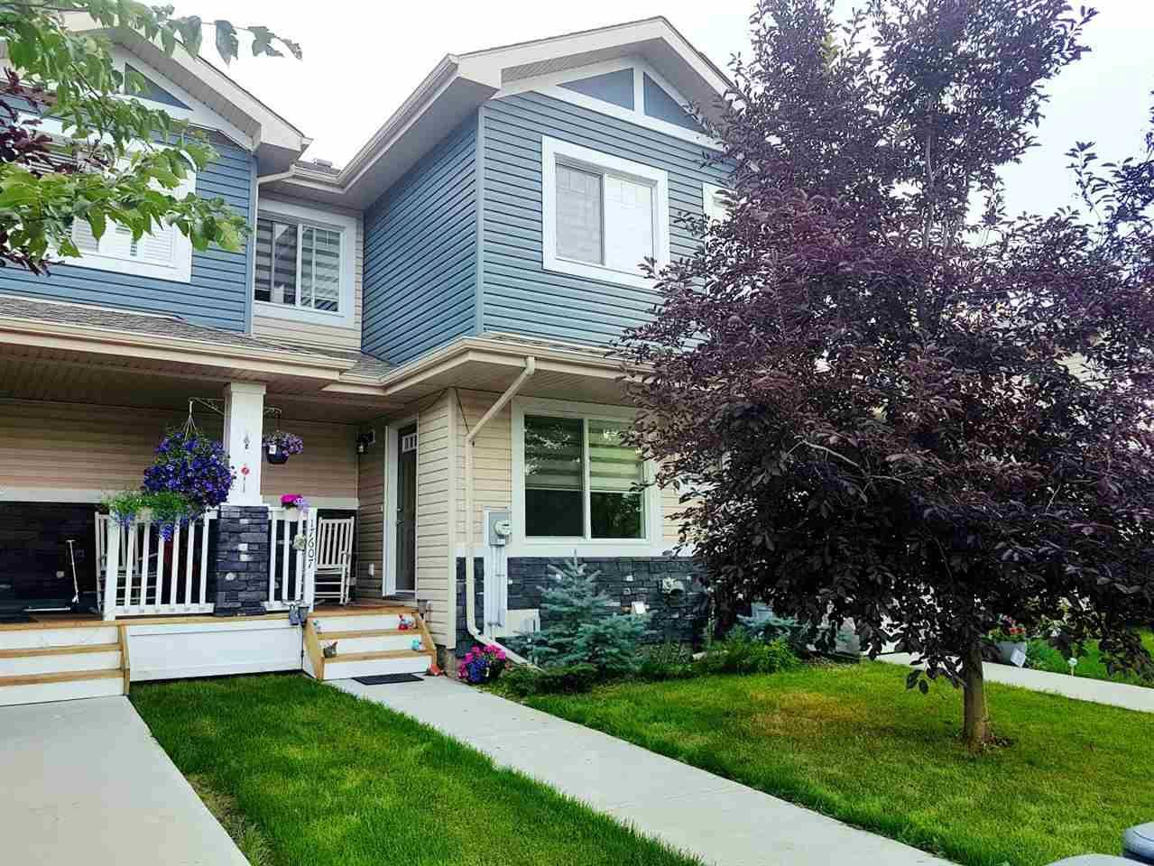 Townhouse for sale at 17607 10 Ave Sw Edmonton Alberta - MLS: E4168208