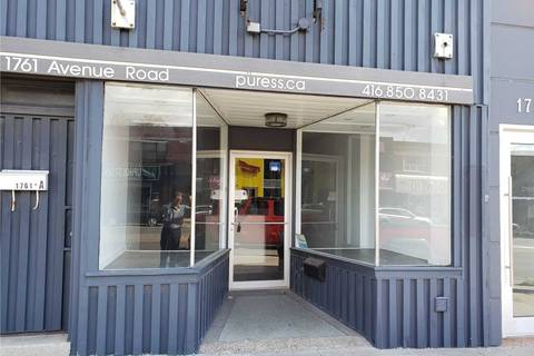 Commercial property for lease at 1761 Avenue Rd Toronto Ontario - MLS: C4736403