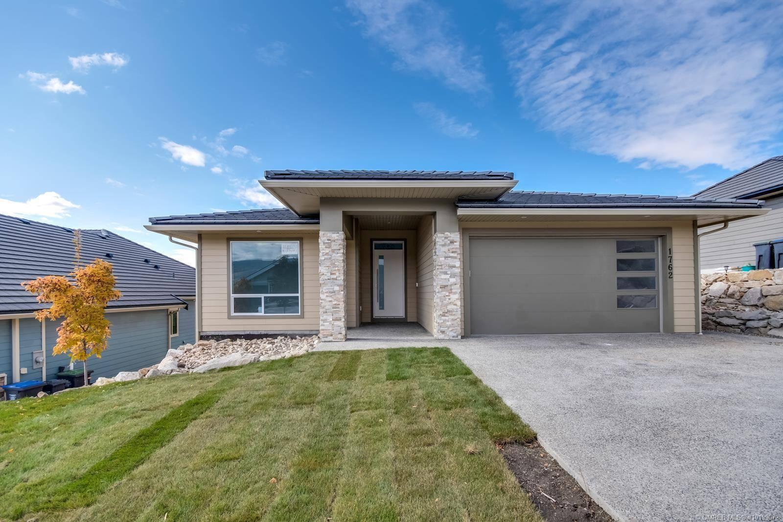 House for sale at 1762 Capistrano Peaks Cres Kelowna British Columbia - MLS: 10199672