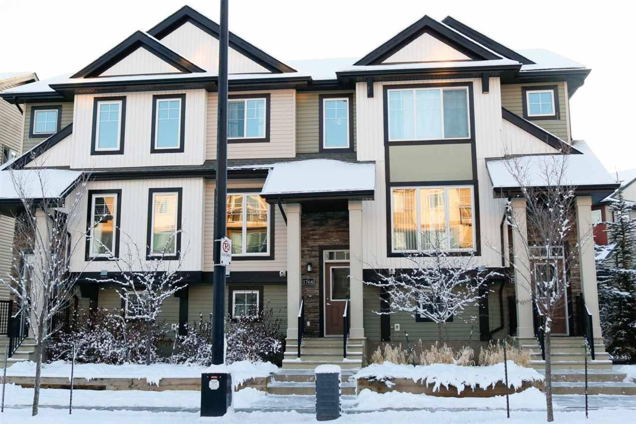 Townhouse for sale at 1766 Cunningham Wy Sw Edmonton Alberta - MLS: E4181953