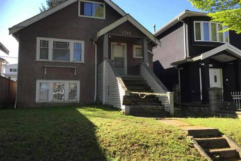 House for sale at 1768 33rd Ave E Vancouver British Columbia - MLS: R2294998