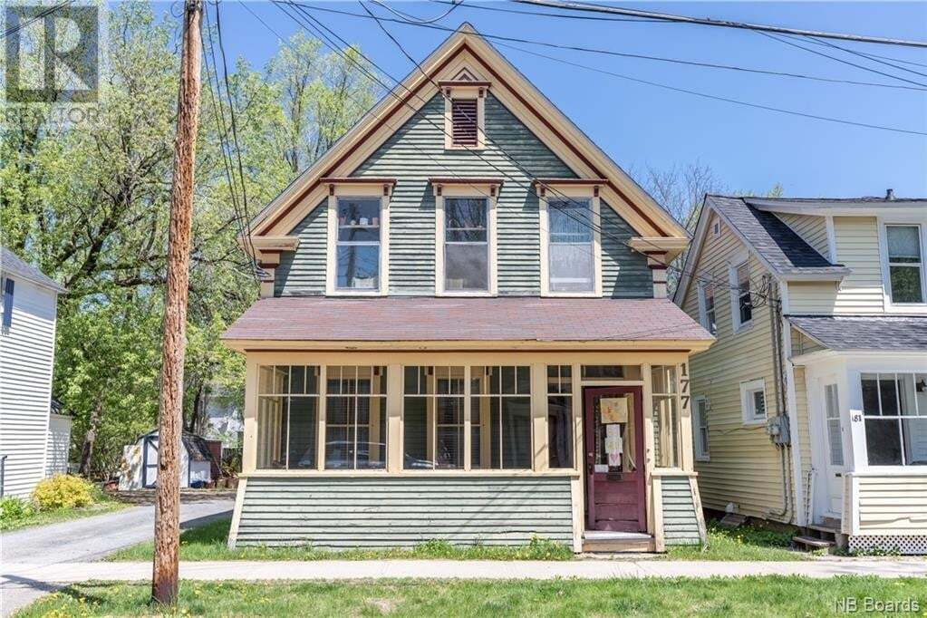 House for sale at 179 Charlotte St Unit 177 Fredericton New Brunswick - MLS: NB043951