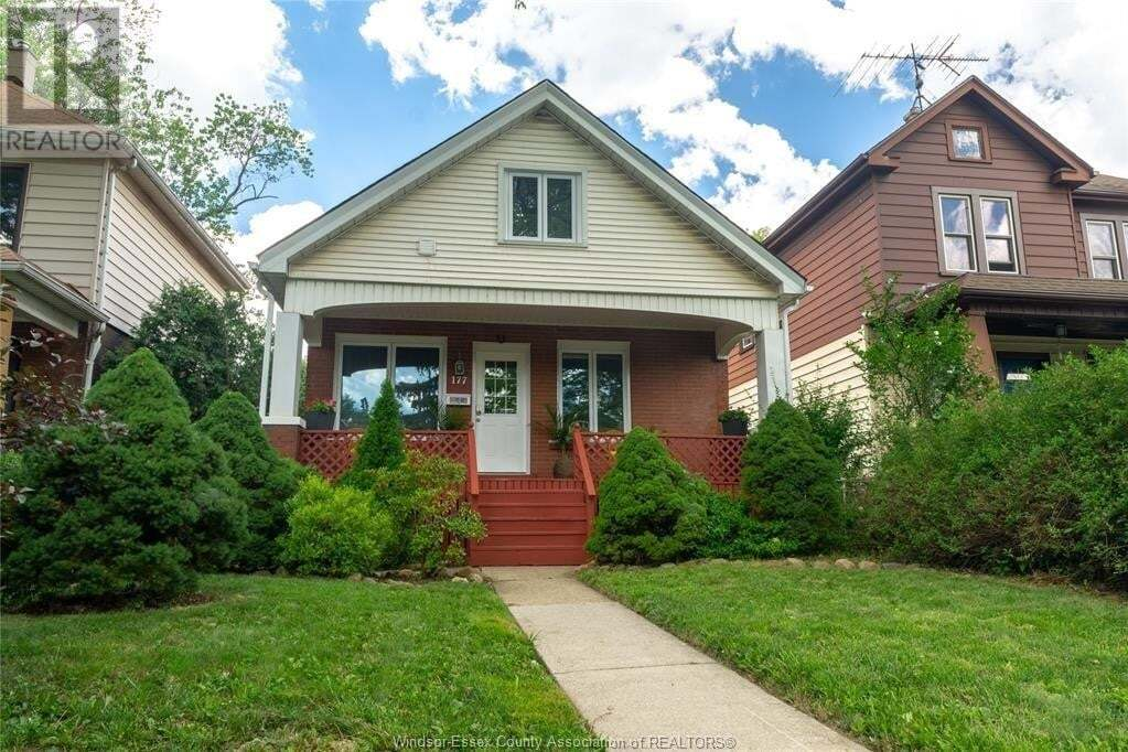 House for sale at 177 Cameron Ave Windsor Ontario - MLS: 20012787