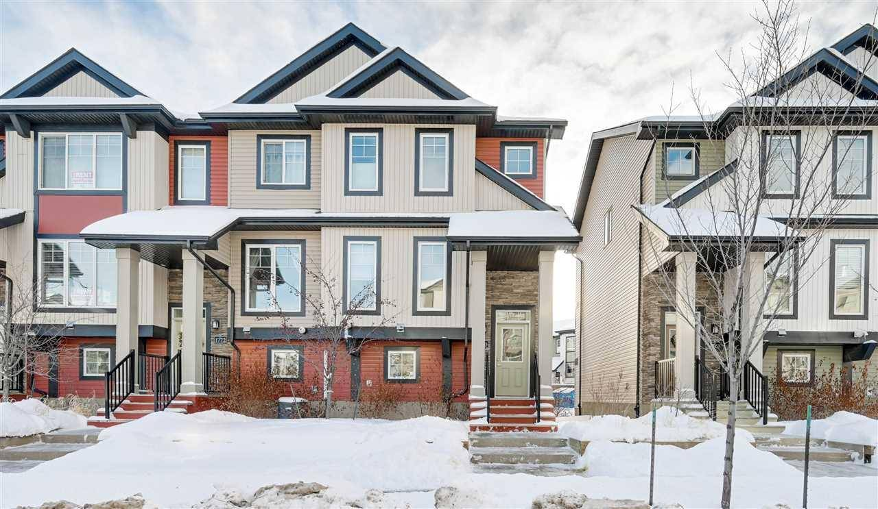 Townhouse for sale at 1770 Cunningham Wy Sw Edmonton Alberta - MLS: E4185142