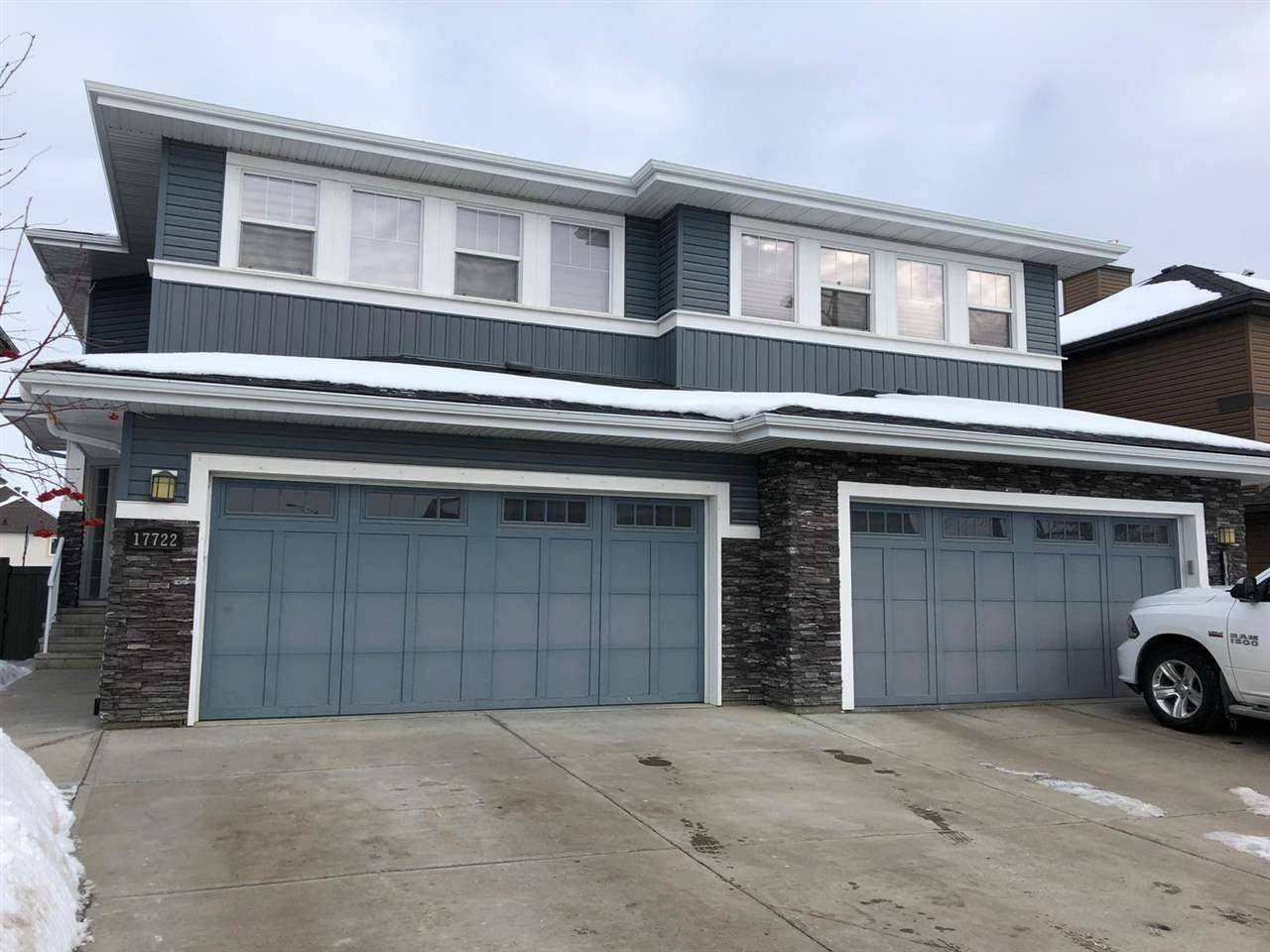 Townhouse for sale at 17722 10 Ave Sw Edmonton Alberta - MLS: E4184307
