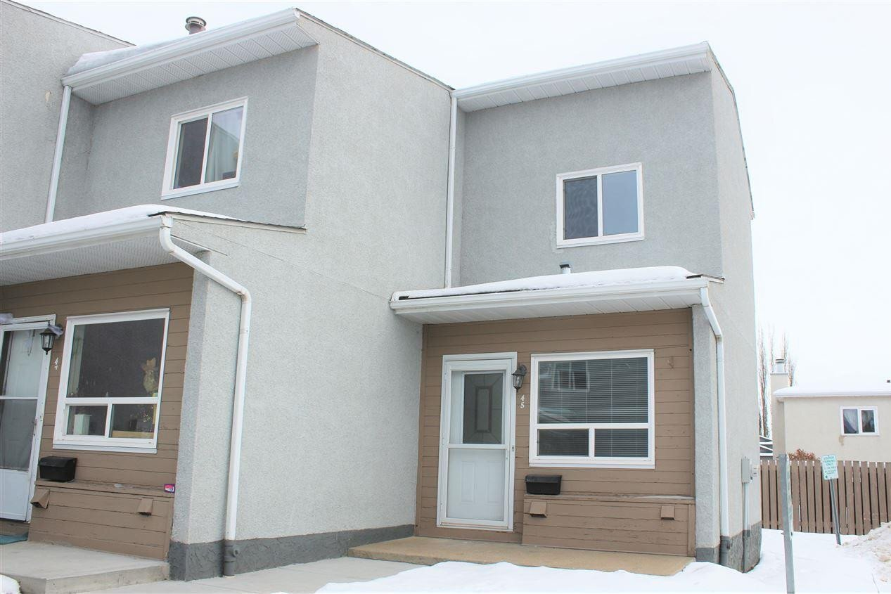 Townhouse for sale at 17745 95 St NW Edmonton Alberta - MLS: E4222037