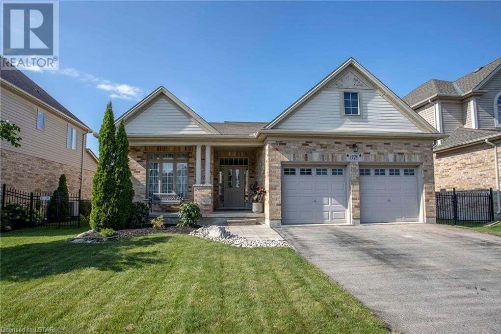House for sale at 1778 Ironwood Rd London Ontario - MLS: 40005649