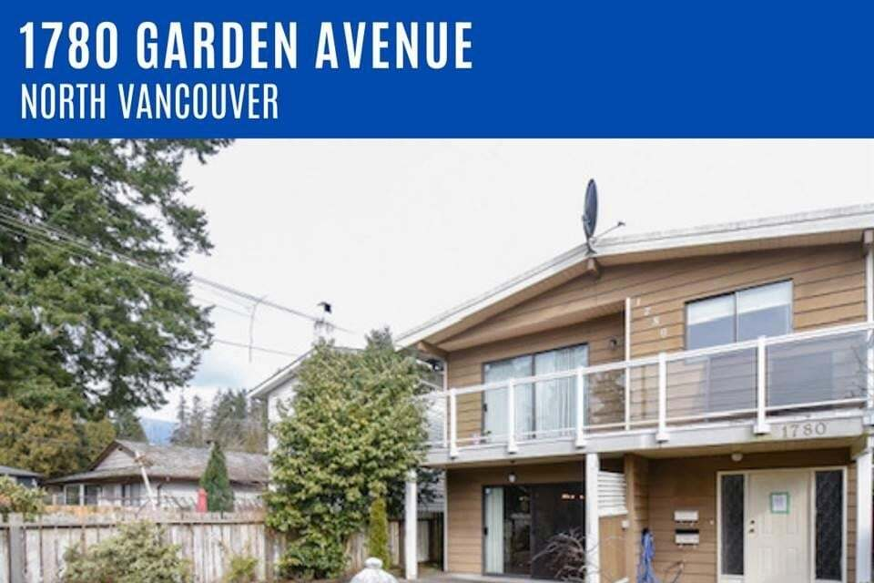 House for rent at 1780 Garden Ave North Vancouver British Columbia - MLS: R2492664