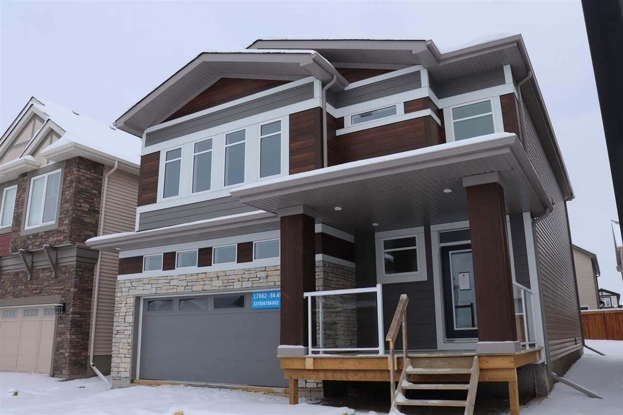 House for sale at 17862 9a Av SW Edmonton Alberta - MLS: E4186903