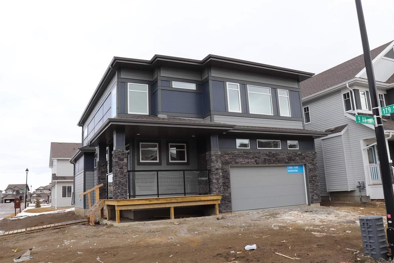 House for sale at 17868 9 Av SW Edmonton Alberta - MLS: E4196117