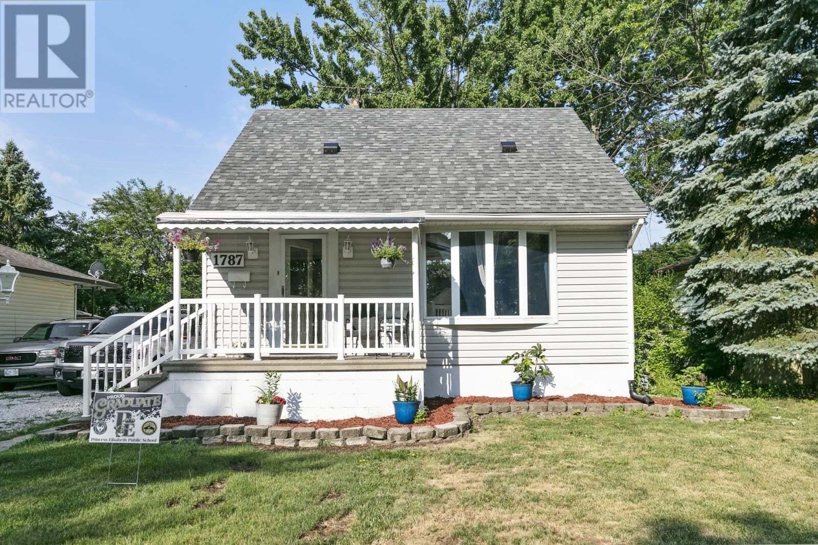 House for sale at 1787 Ellrose  Windsor Ontario - MLS: 20008133