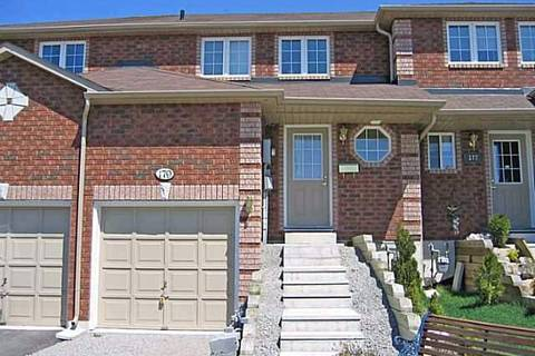 Townhouse for sale at 179 Courtney Circ Barrie Ontario - MLS: S4723275