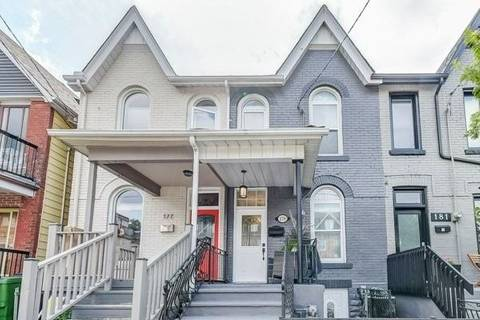 Townhouse for sale at 179 Hallam St Toronto Ontario - MLS: W4558739