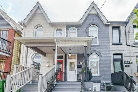 Townhouse for sale at 179 Hallam St Toronto Ontario - MLS: W4583516