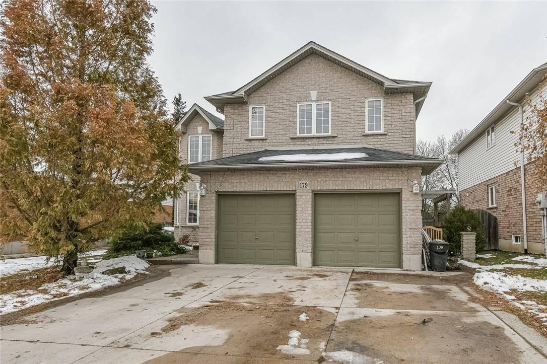 House for sale at 179 Jacqueline Blvd Hamilton Ontario - MLS: H4068918