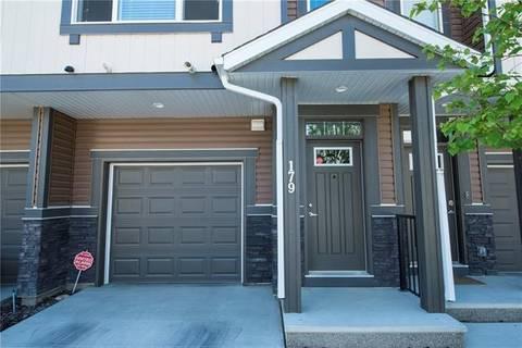 Townhouse for sale at 179 New Brighton Walk/walkway Southeast Calgary Alberta - MLS: C4253959