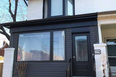 Townhouse for rent at 179 Perth Ave Toronto Ontario - MLS: W4645445