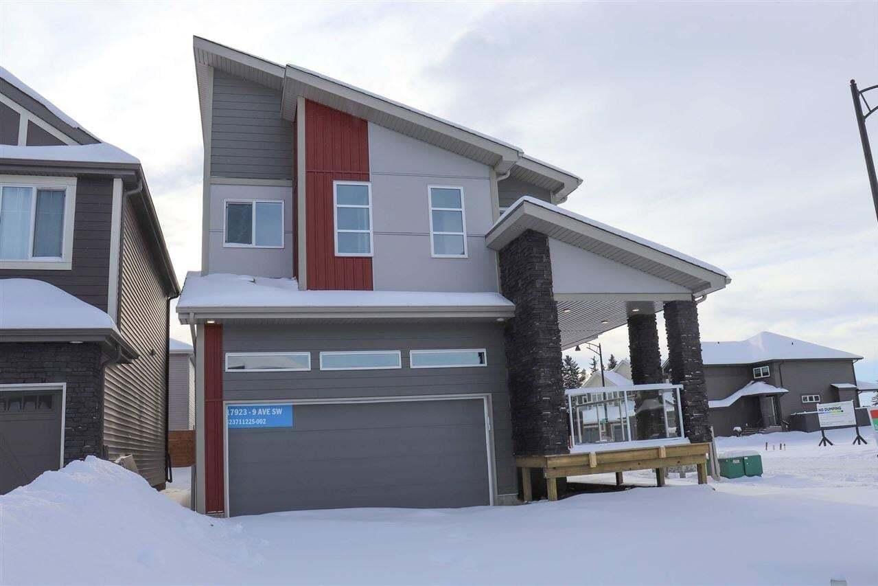 House for sale at 17923 9 Av SW Edmonton Alberta - MLS: E4186704